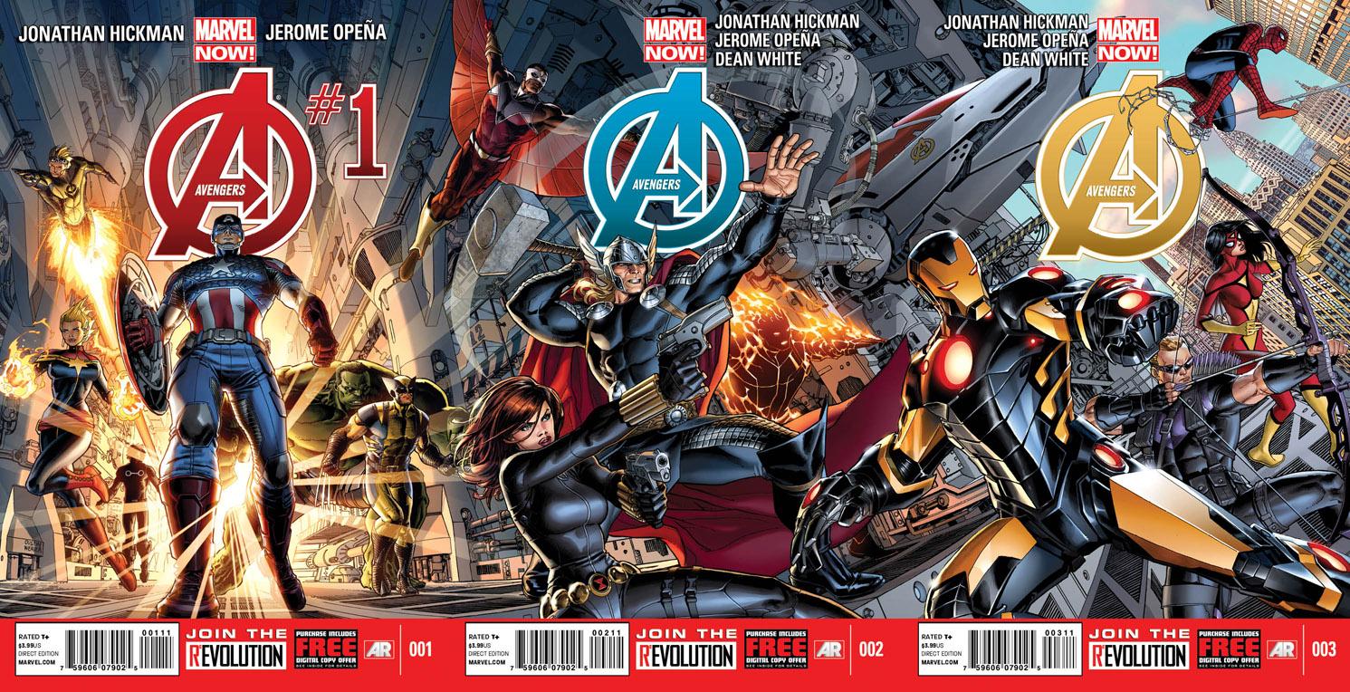 http://multiversitystatic.s3.amazonaws.com/uploads/2012/09/Avengers_1_2_3_Covers.jpg