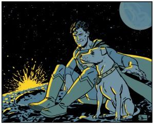 Superman And Krypto Doc Shaner