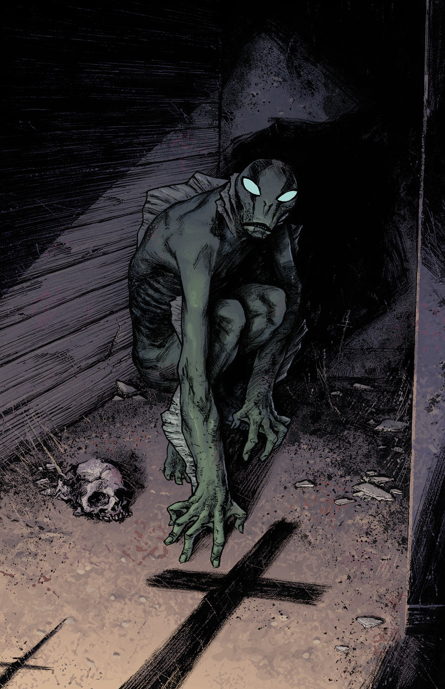 Abe Sapien: Dark And Terrible #2 cover