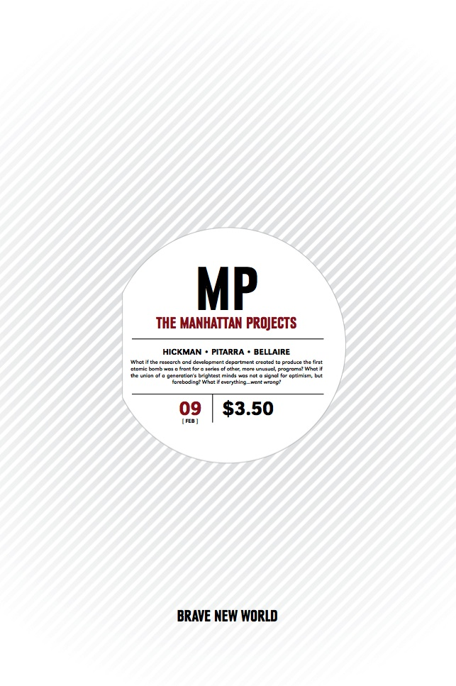 Manhattan Projects #9 Cover