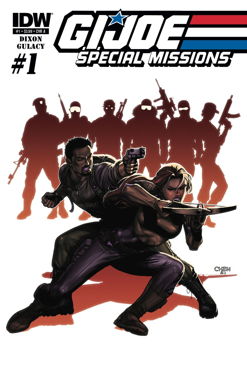 G.I. Joe: Special Missions #1, Sean Chen cover