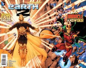 Earth 2 #11 Gatefold Cover