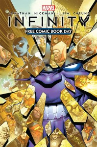 Infinity Free Comic Book Day Cover
