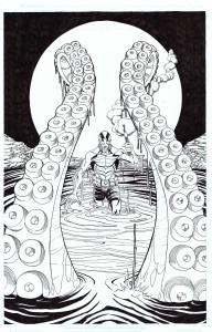 Abe Sapien by Joe Mulvey