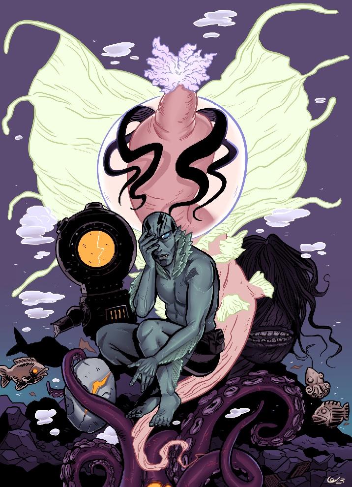Abe Sapien by Lin Visel