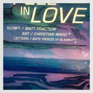 Christian Ward in Love