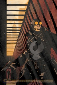 Lobster Johnson A Scent of a Lotus w/ Watermark