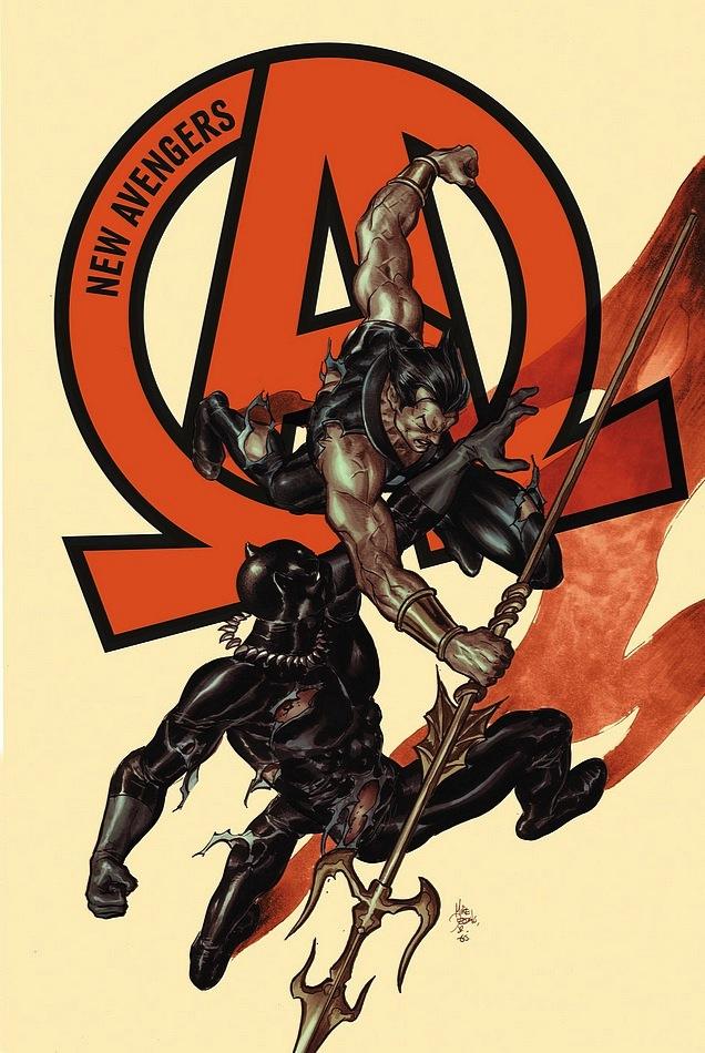 New Avengers 7 Cover