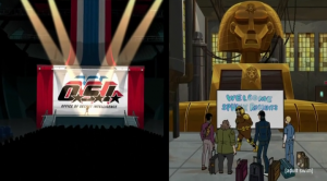 Venture Bros Sphinx Rising