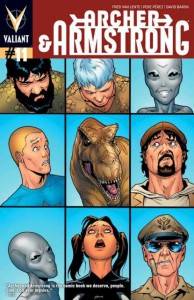 Archer & Armstrong 11