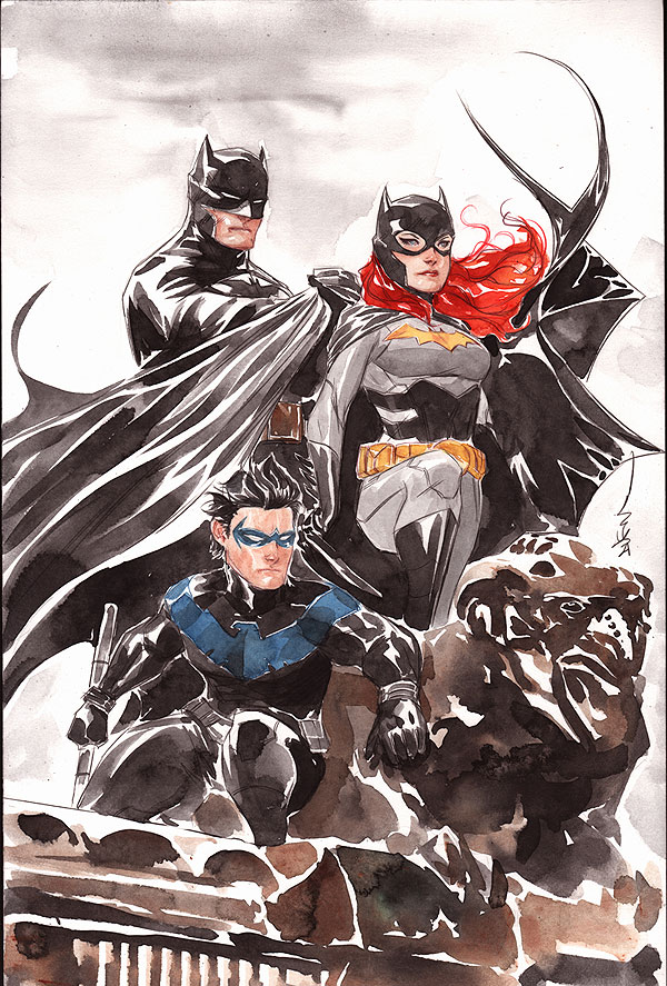 Gotham Knights by Dustin Nguyen