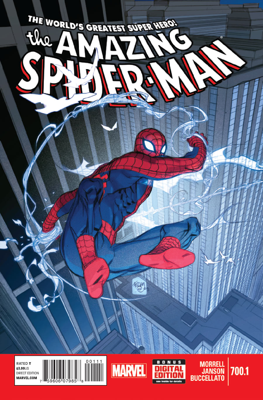 SPIDEY #1 STANDARD COVER