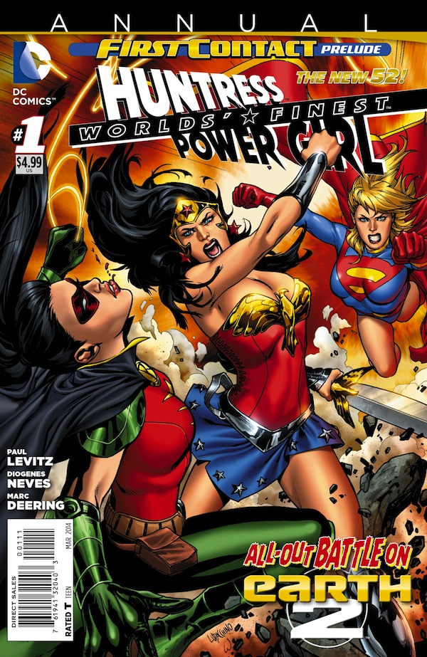 Worlds' Finest Annual #1 Cover