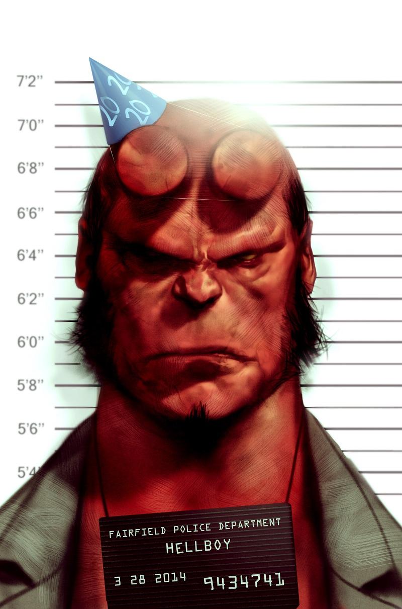 Hellboy by Ben Oliver