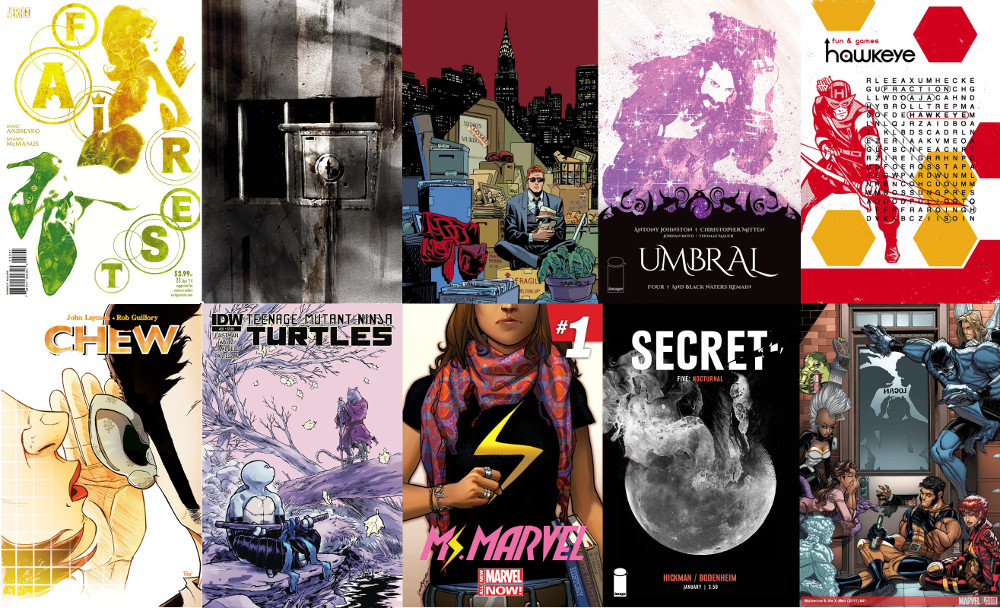 Covers of the Month February 2014