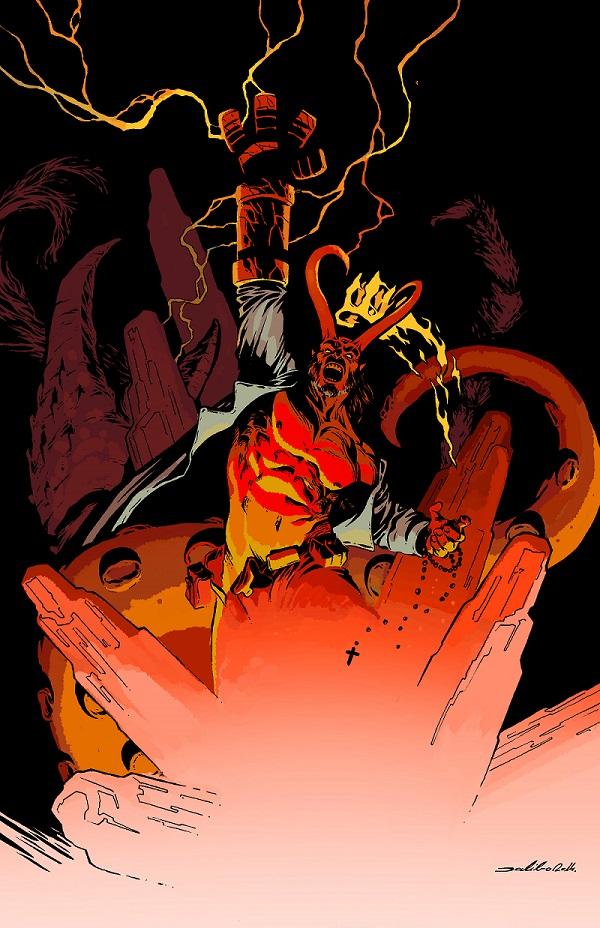 Hellboy by Dalibor Talajic