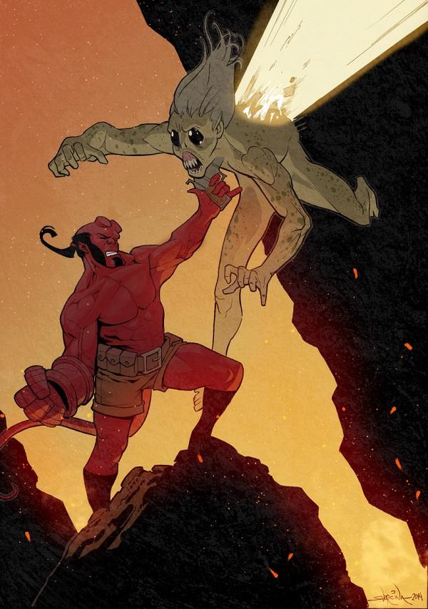 Hellboy by Ive Svorcina