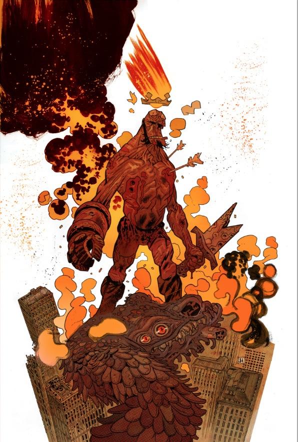 Hellboy by James Harren (Color)