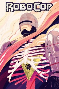 RoboCop #1 Cover by Goñi Montes
