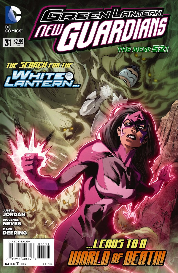 Green Lantern New Guardians #31 Cover