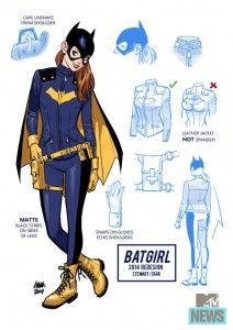Batgirl Re-design