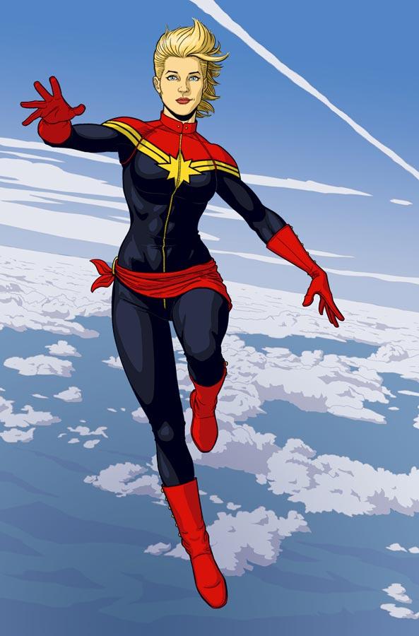 Captain Marvel McKelvie