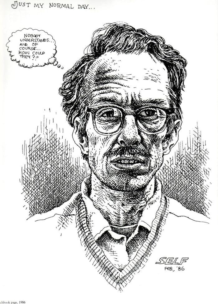 Crumb Self Portrait 1986