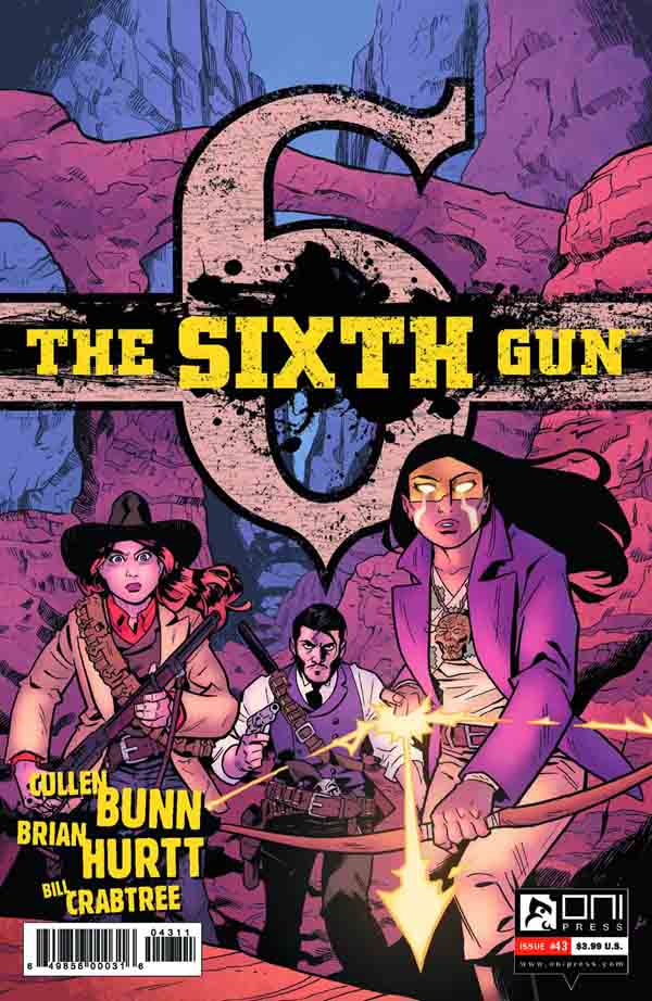 The Sixth Gun 43 (cover)