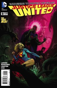 Justice League United 9 Cover