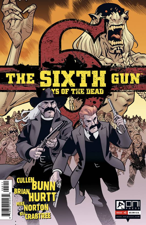 The Sixth Gun: Days of the Dead #5 (Cover)