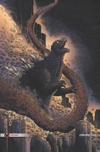 Godzilla in Hell 1 Cover