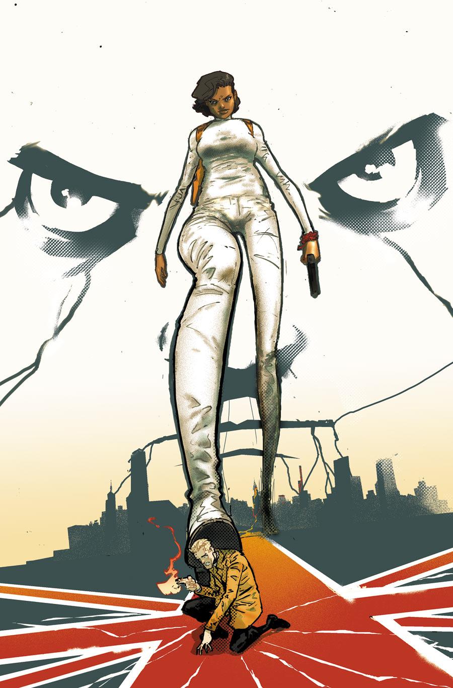 Constantine The Hellblazer #3 Cover