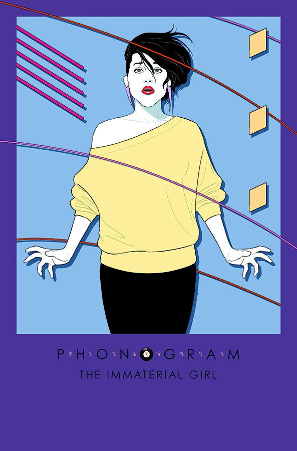 Phonogram The Immaterial Girl 01