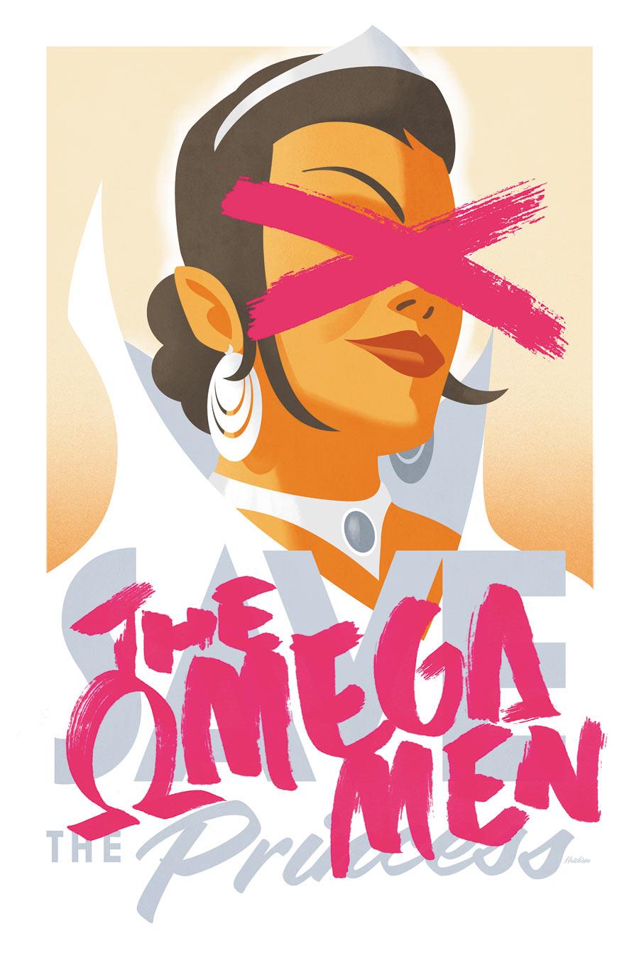 The Omega Men #3 Cover