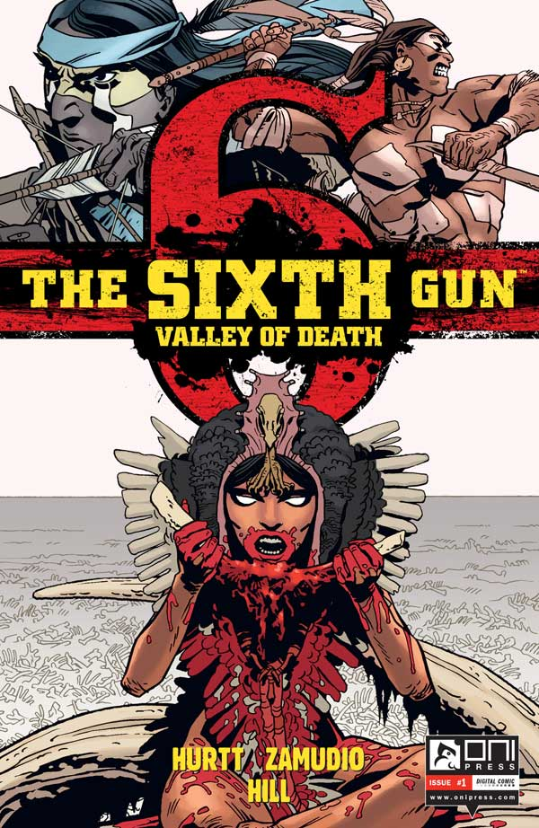 The Sixth Gun: Valley of Death #1 cover