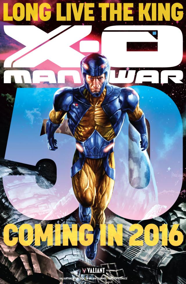 X-O-Manowar #50 Teaser Cover