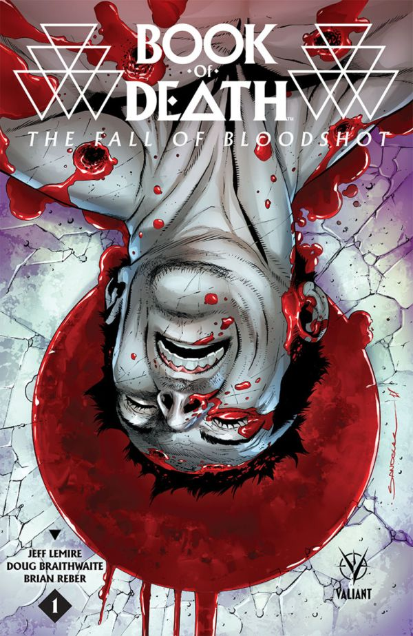 Book of Death Fall of Bloodshot Cover