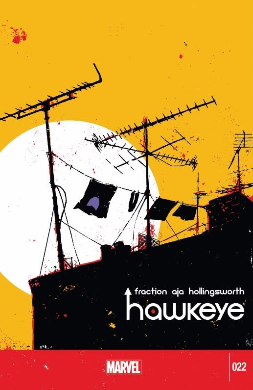 Hawkeye Issue #22 Cover