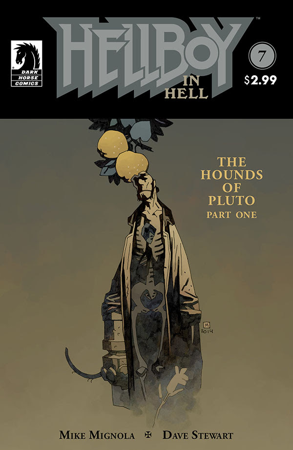 Hellboy in Hell: The Hounds of Pluto #1 cover