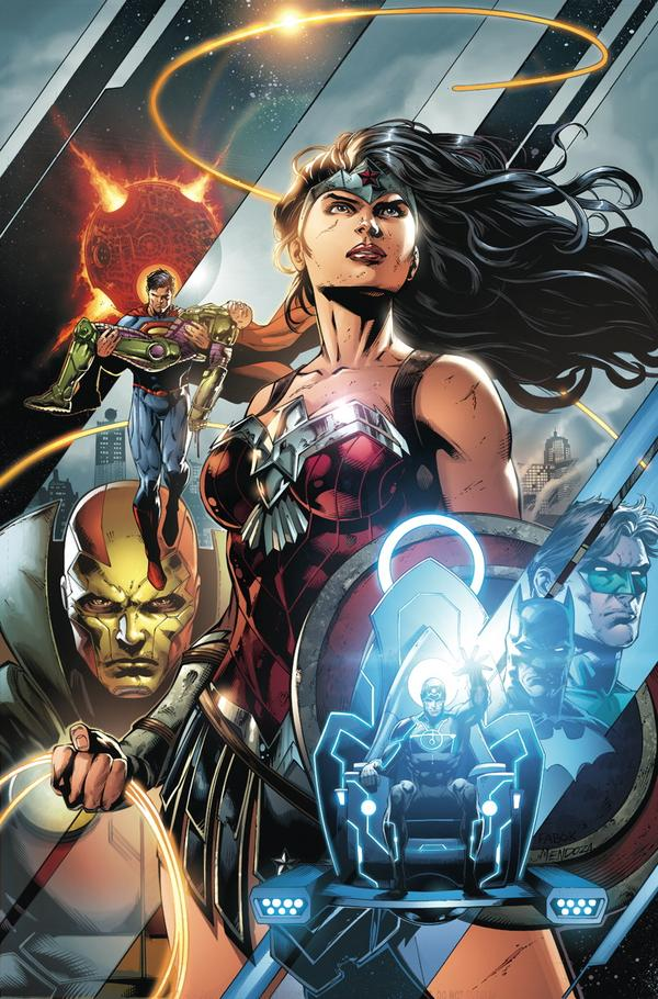 """""""Justice League"""" #42 Cover"""