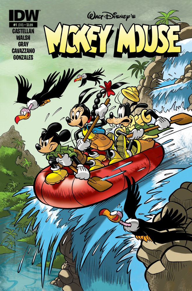 Mickey Mouse 1 Cover