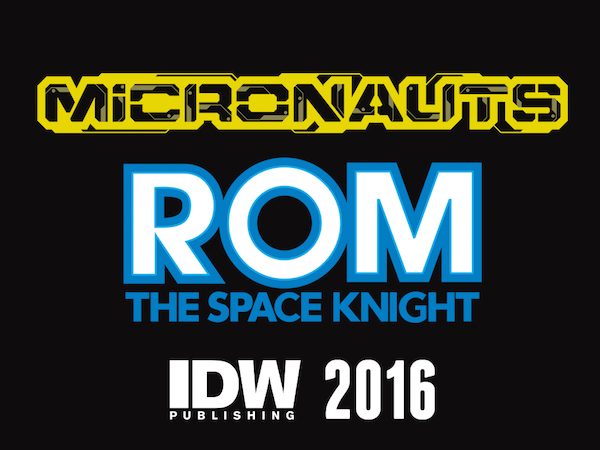 Micronauts ROM The Space Knight IDW