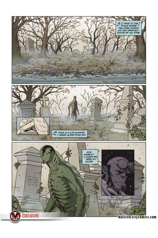 EXCLUSIVE: Abe Sapien: Icthyo Sapien (Page 1)