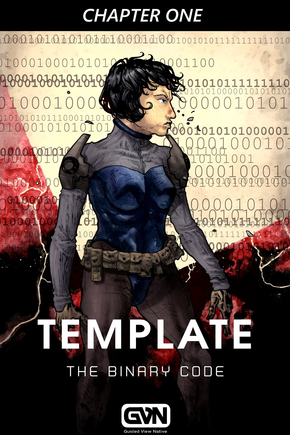 Template Binary Code 1 Cover
