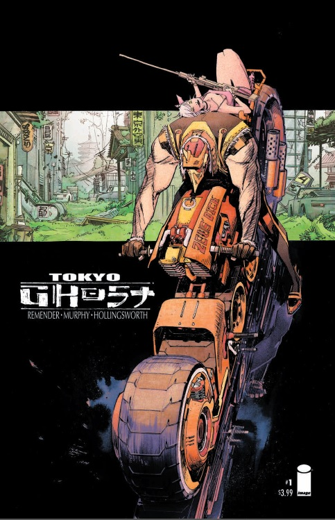 Tokyo Ghost Issue 1 Cover