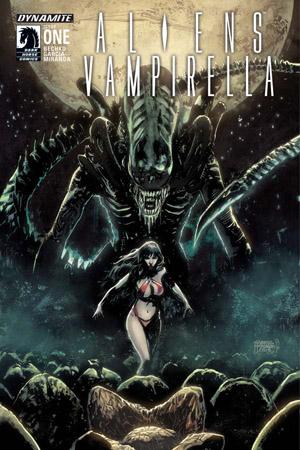 Aliens/Vampirella #1 Cover