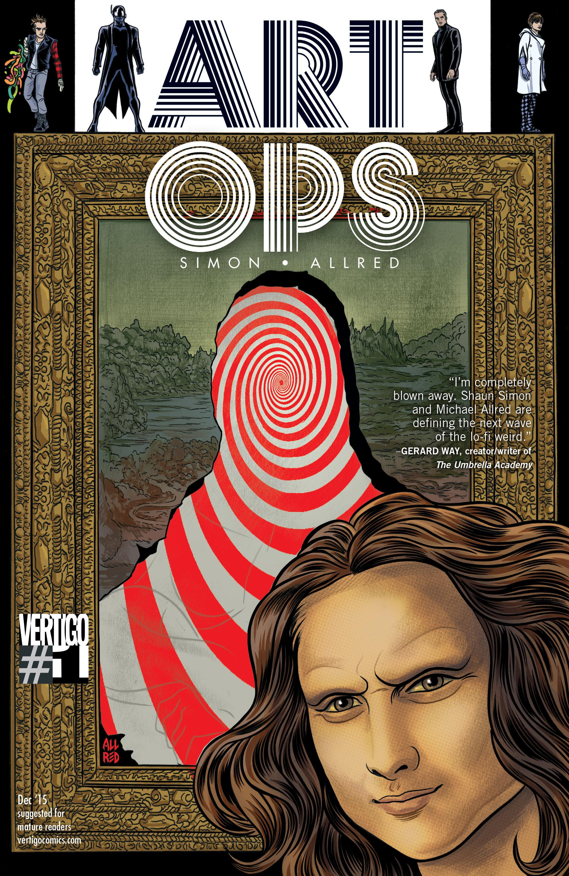 Art Ops Issue 1 Cover