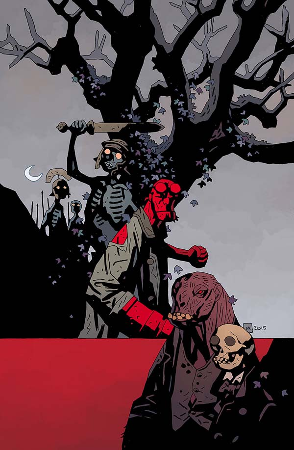 Hellboy and the B.P.R.D.: 1953 #2 — The Witch Tree & Rawhead and Bloody Bones (cover)