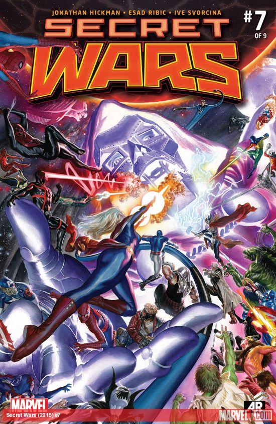 Secret Wars #7 Cover