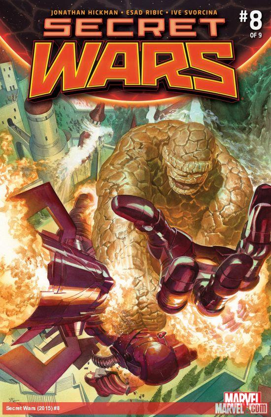 Secret Wars #8 Cover
